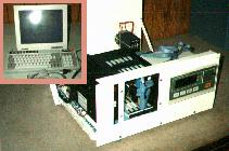 Open chassis system w/ scale, computer, Opto 22, HD terminals